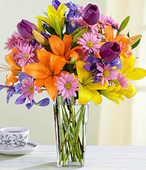 Click To Enlarge Summer Flowers Bouquet